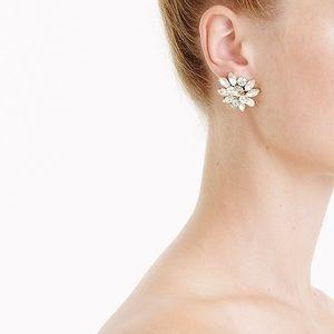 J. CREW / crystal burst statement earrings